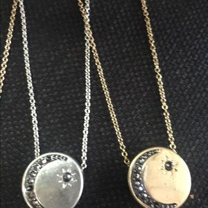 Jewelry - Moon & Star necklaces.